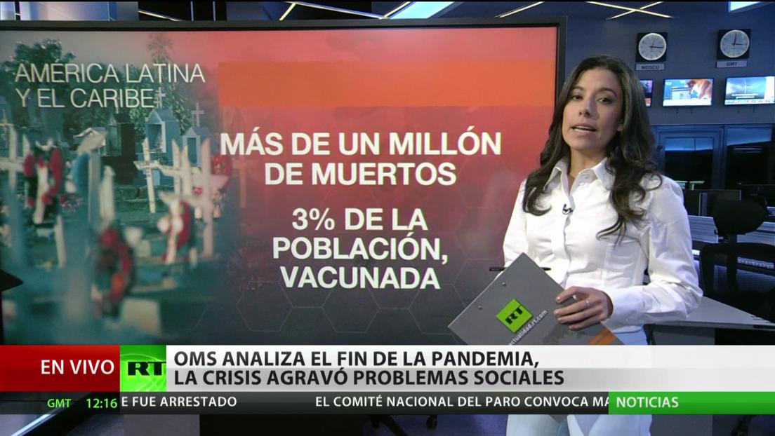 La OMS se centra en las acciones para poner fin a la pandemia de covid-19 y se prepara para futuras crisis