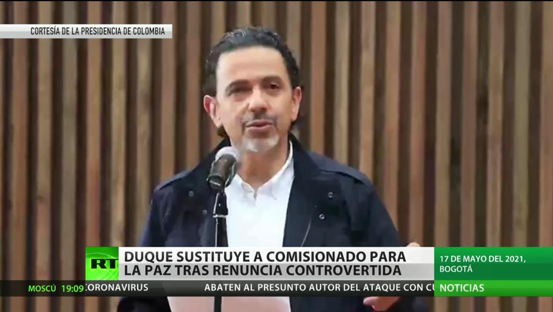 Colombia: Duque sustituye al Alto Comisionado para la Paz tras la sorpresiva renuncia de Miguel Ceballos