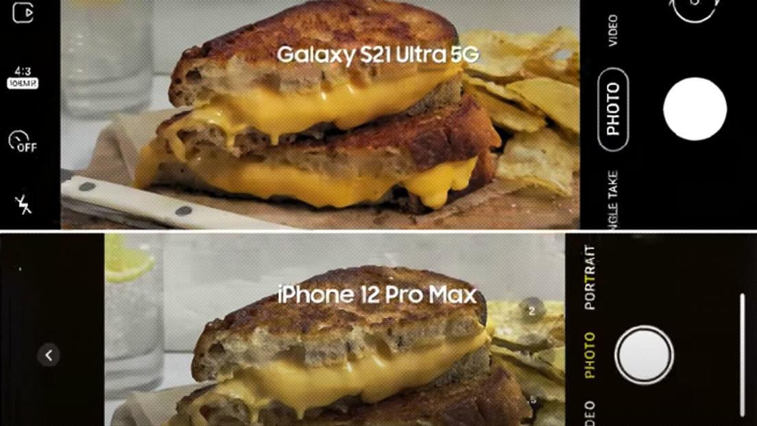 Samsung se burla de Apple en los anuncios para promocionar su nuevo Galaxy S21 Ultra (VIDEOS)