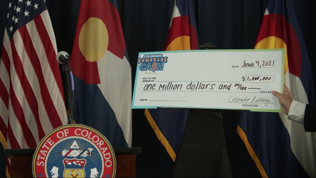 El estado de Colorado realizará un sorteo de cinco millones de dólares para incentivar a la gente a inocularse contra el covid-19