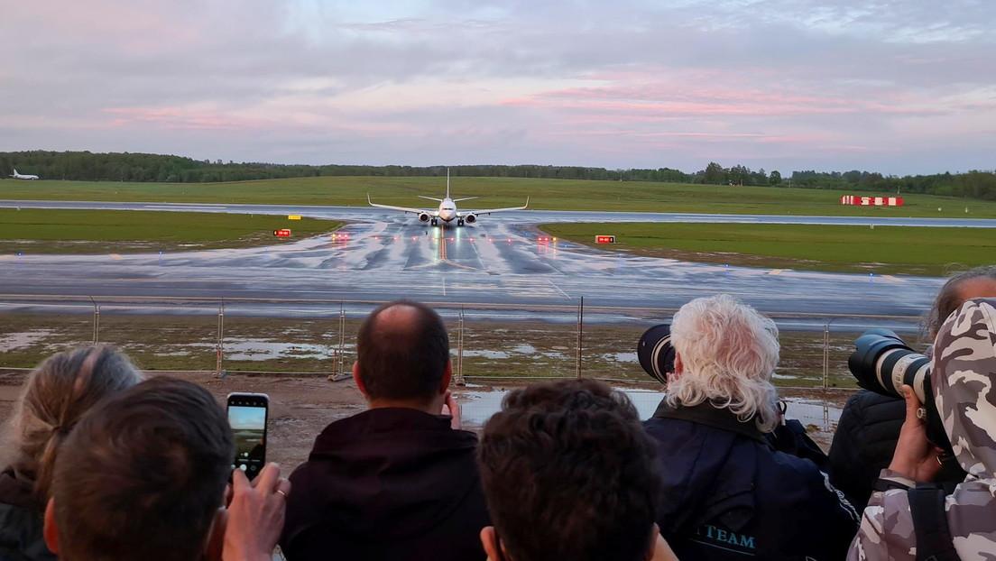 """Moscú sobre el incidente del avión de Ryanair: """"Occidente no cejará en su empeño de vincular cualquier evento a su línea rusófoba"""""""