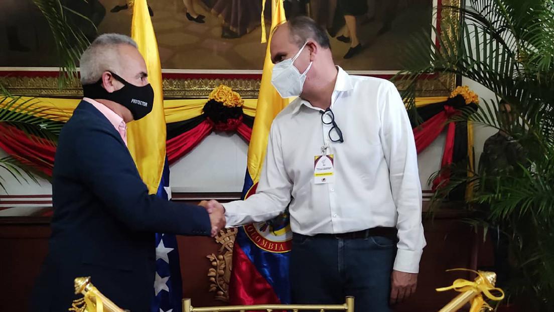 """Venezuela inicia reuniones con empresarios colombianos del Norte de Santander para reactivar """"el aparato productivo del eje fronterizo"""""""