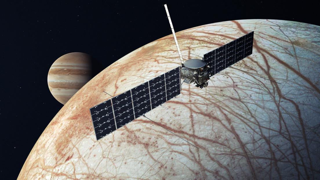 Hallan indicios de volcanes submarinos en una luna de Júpiter