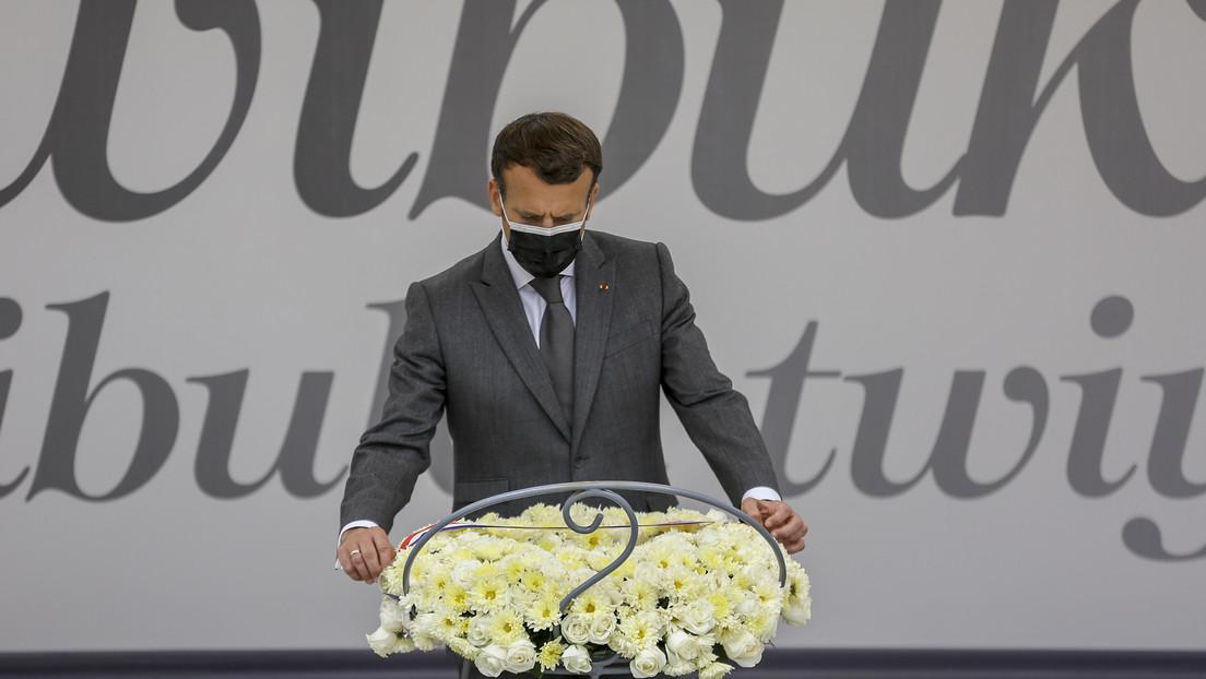 Macron pide perdón por el papel de Francia en el genocidio en Ruanda
