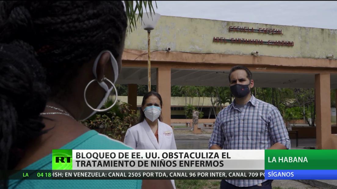 El bloqueo de EE.UU. sobre Cuba obstaculiza el tratamiento de niños enfermos