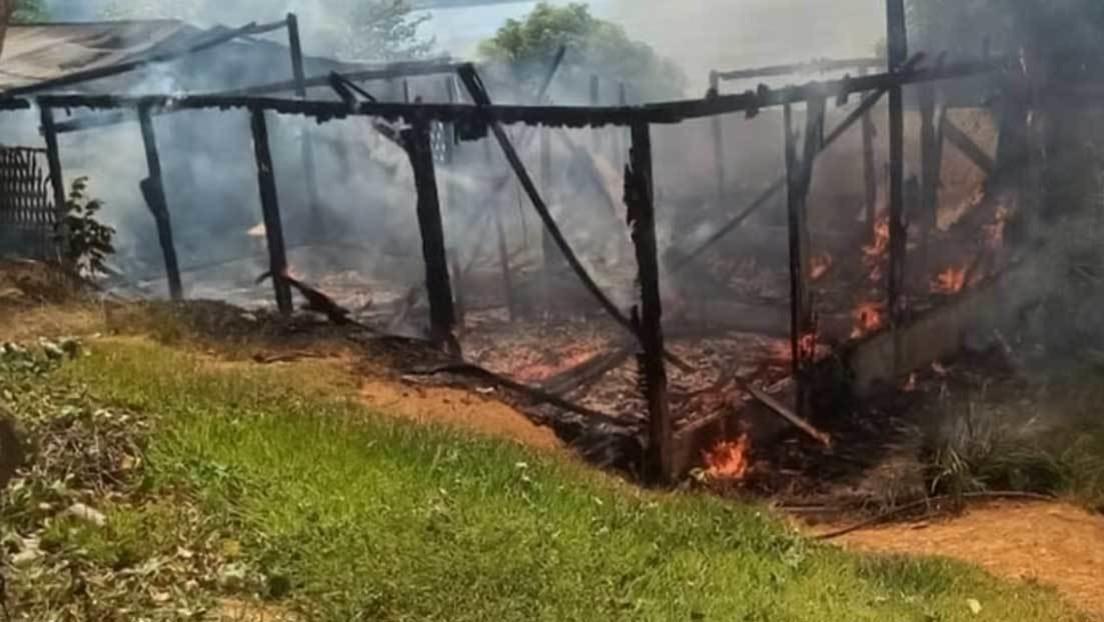Queman la casa de una lideresa indígena en un nuevo ataque de mineros ilegales en la Amazonía