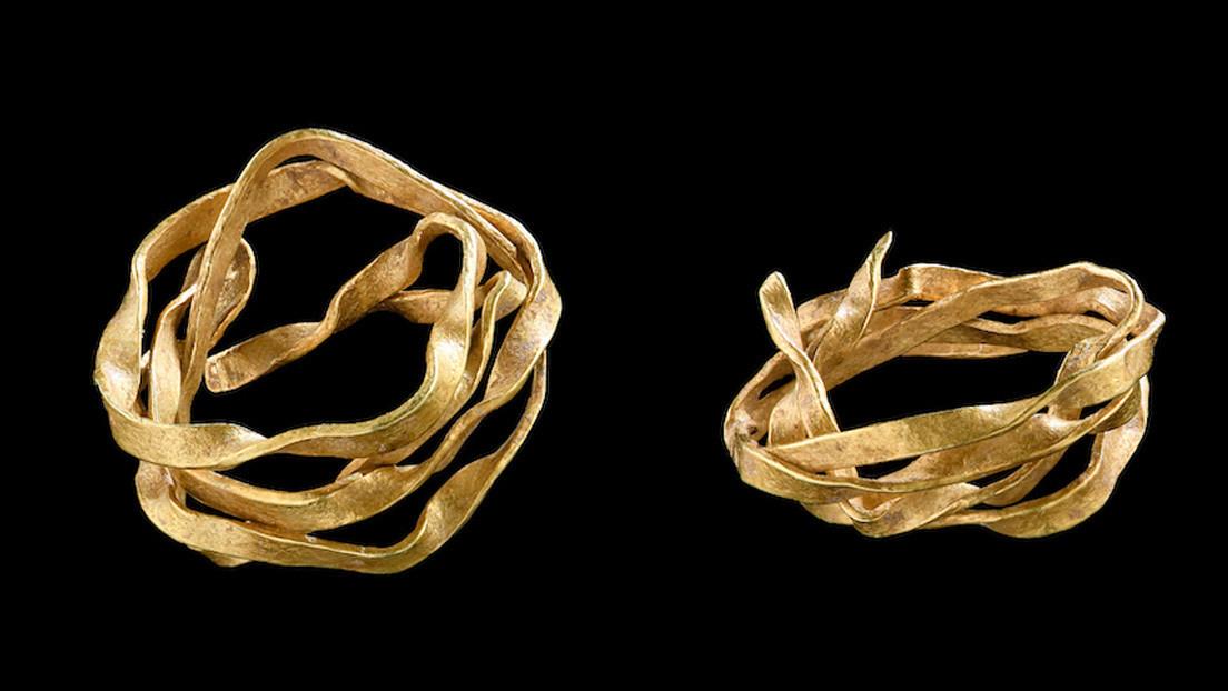 Arqueólogos encuentran la pieza de oro más antigua del sureste de Alemania