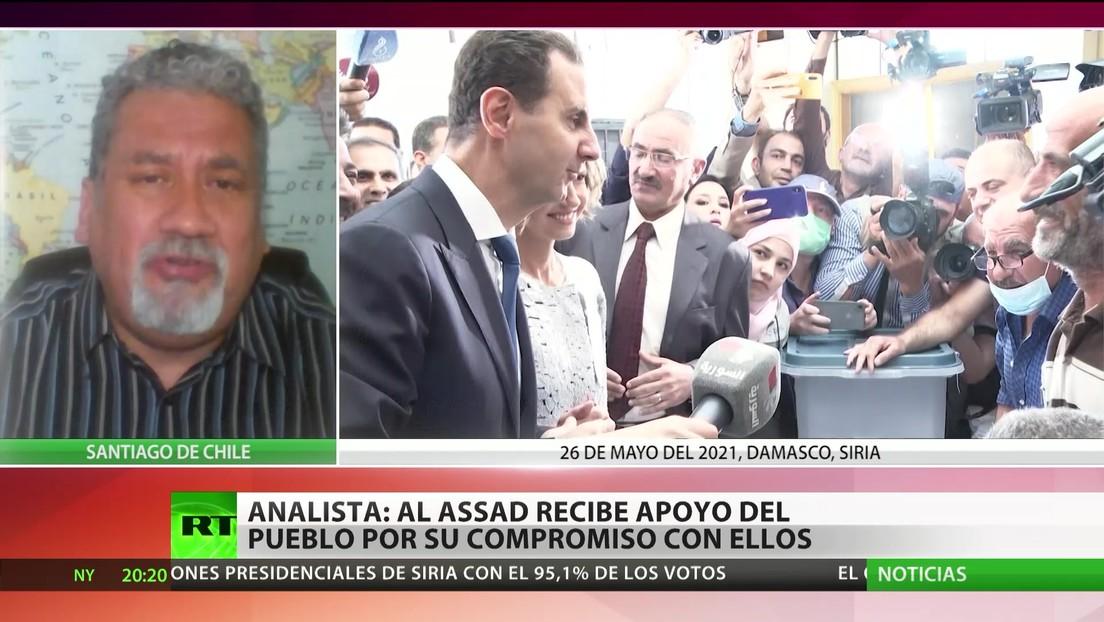 ¿Por qué el pueblo sirio reeligió a Bashar al Assad?