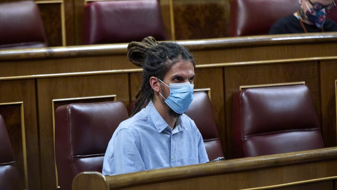 El Tribunal Supremo de España abre juicio contra el número 3 de Unidas Podemos por atentado contra la autoridad