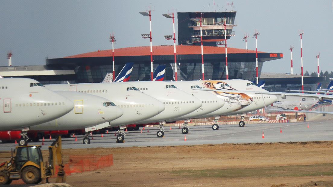 """Moscú: """"Los problemas con vuelos de aerolíneas europeas a través de Rusia son una situación extraordinaria, pero de carácter técnico"""""""