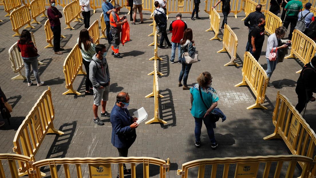 The Lancet publica un estudio que demuestra la seguridad de un concierto en Barcelona en plena pandemia del covid-19