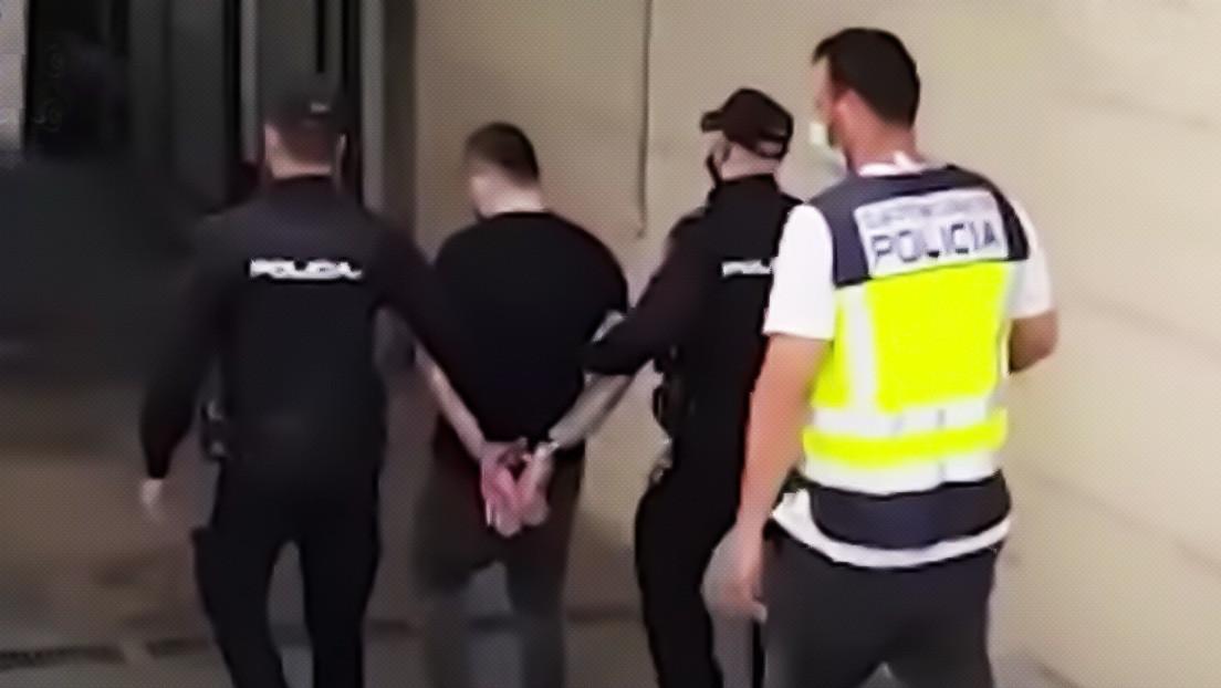 VIDEO: Capturan en Madrid a un sicario buscado en Colombia por más de un centenar de homicidios