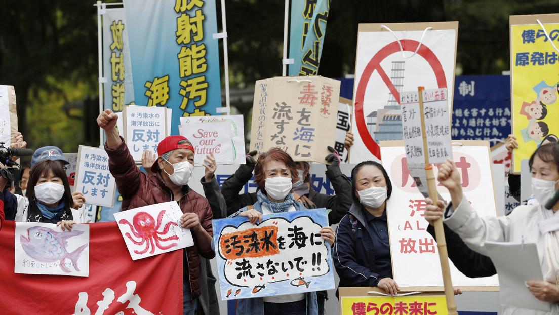 """Pekín acusa a Tokio de intentar """"blanquear"""" el plan para verter agua contaminada de Fuskushima en el océano"""