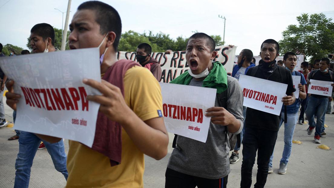 López Obrador confirma que en EE.UU. hay un detenido por el caso Ayotzinapa