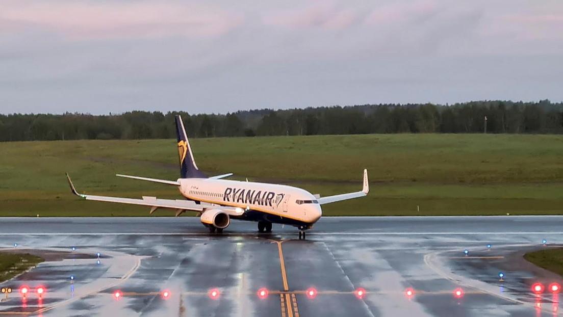 EE.UU. impone sanciones a Bielorrusia tras el incidente con el avión de Ryanair
