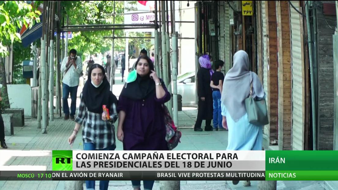 Arranca la campaña electoral para las presidenciales del 18 de junio en Irán
