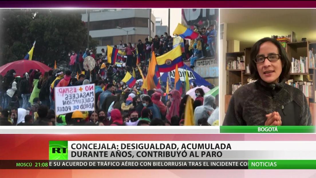 Concejala de Bogotá: La desigualdad acumulada durante años contribuyó al paro nacional en Colombia