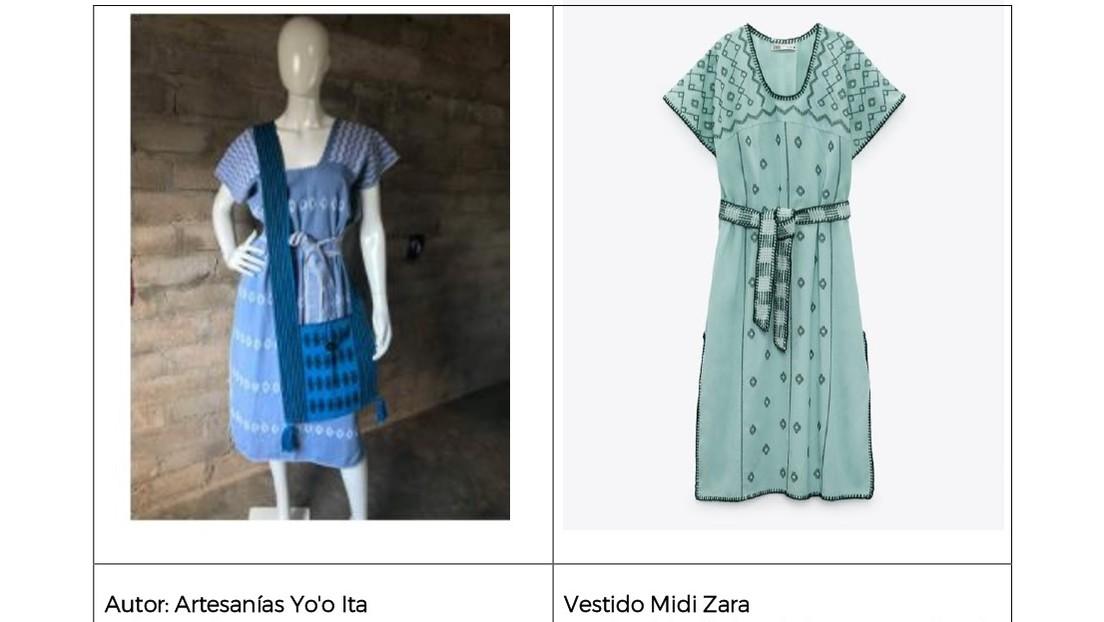 México acusa a Zara de apropiación cultural por copiar el diseño del huipil oaxaqueño en un vestido