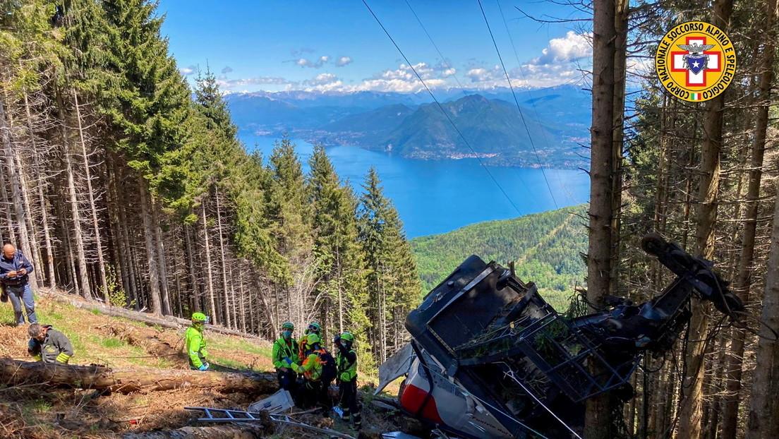 Revelan las primeras palabras del niño que sobrevivió a la caída de un teleférico en los Alpes italianos