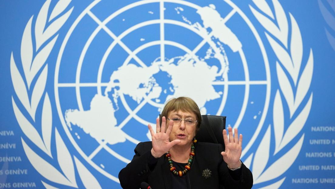 """Bachelet pide una investigación """"independiente"""" de las muertes en Colombia durante las manifestaciones"""
