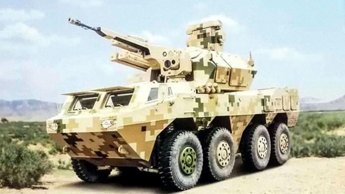 China presenta un nuevo cañón antiaéreo autopropulsado destinado para las tareas de defensa aérea de campo