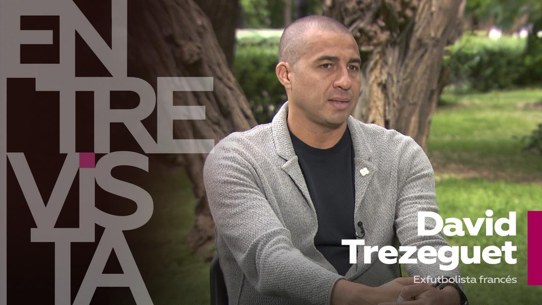 """David Trezeguet, exfutbolista francés: """"Tuve la suerte de ganar los dos trofeos más importantes para una selección nacional"""""""