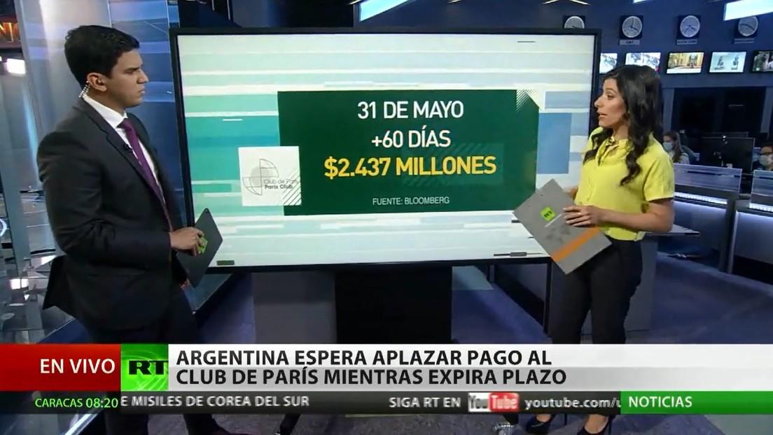 Argentina espera aplazar el pago de un tramo de su deuda al Club de París mientras expira el plazo