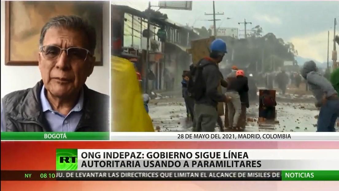 """Activista: """"El Gobierno colombiano está estableciendo una casi dictadura para aplastar la protesta en lugar de dar soluciones"""""""