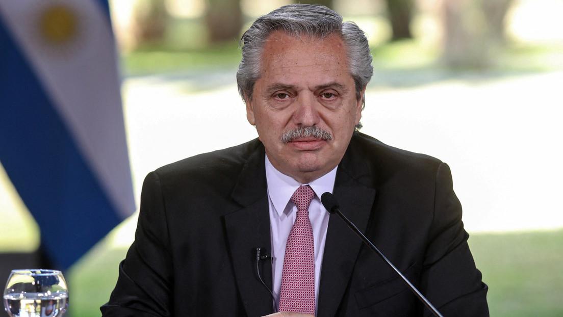 """Alberto Fernández dice que """"si las cosas salen como están previstas"""" a partir de junio tendrían más de 2 millones de Sputnik V fabricadas en Argentina"""