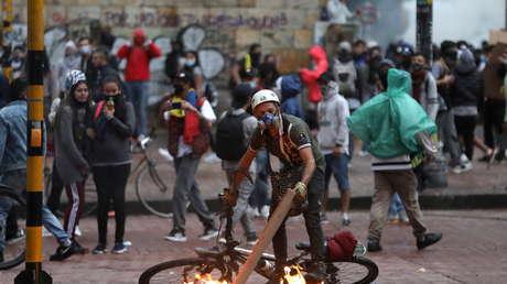 Cuarto día consecutivo de protestas masivas en Colombia contra la reforma tributaria de Duque