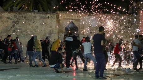 Al menos 205 heridos en enfrentamientos entre palestinos y la Policía israelí en el centro de Jerusalén: ¿qué está pasando?