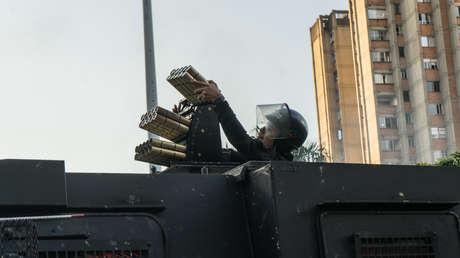 """""""No lo hemos visto nunca en América Latina"""": HRW responde al ministro de Defensa colombiano sobre el uso de lanzadores Venom contra manifestantes"""