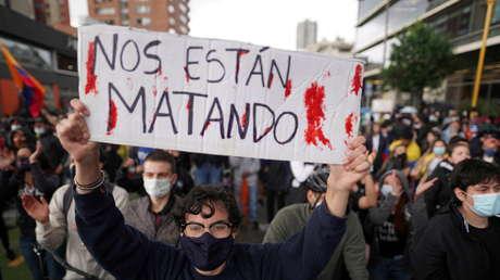 Una escalada violenta de las protestas en Colombia, ¿la última carta del 'uribismo'?