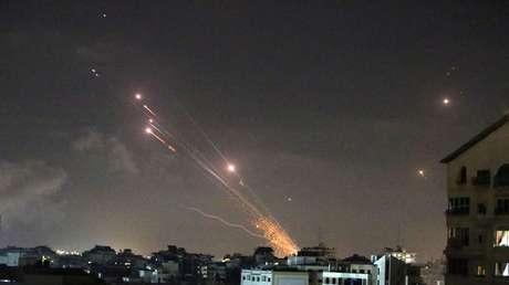 Suenan las sirenas por aviso de cohetes en toda la parte central de Israel, incluido Tel Aviv