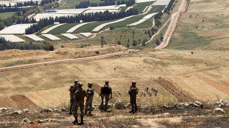 Israel responde con fuego de artillería al lanzamiento de seis cohetes desde el Líbano
