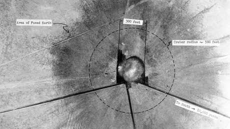 """Encuentran un cuasicristal """"magnífico en su complejidad"""" en el lugar donde se realizó la primera prueba atómica en la historia"""