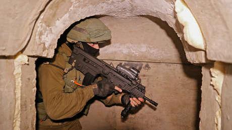 Israel explica la estructura y la función de la red de túneles de Hamás en Gaza y afirma haber destruido cerca de 100 kilómetros de ellos