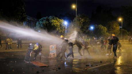 Reportan más de 80 heridos en Bogotá tras intervención del Esmad para desbloquear vías en la localidad de Usme
