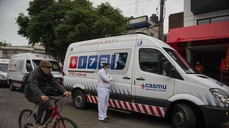 Uruguay reporta el primer caso de 'hongo negro' en un paciente con covid-19