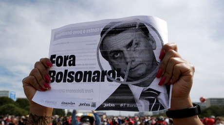 Multitudinarias manifestaciones en Brasil piden la destitución de Bolsonaro por el manejo de la pandemia