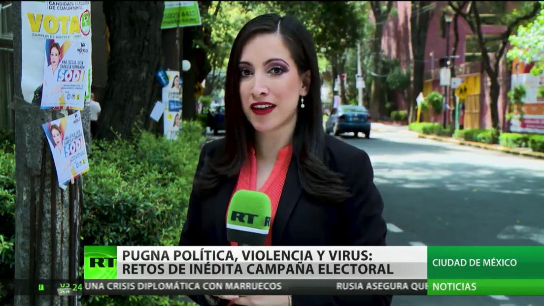 Pugna política, violencia y coronavirus: los retos de una inédita campaña electoral en México