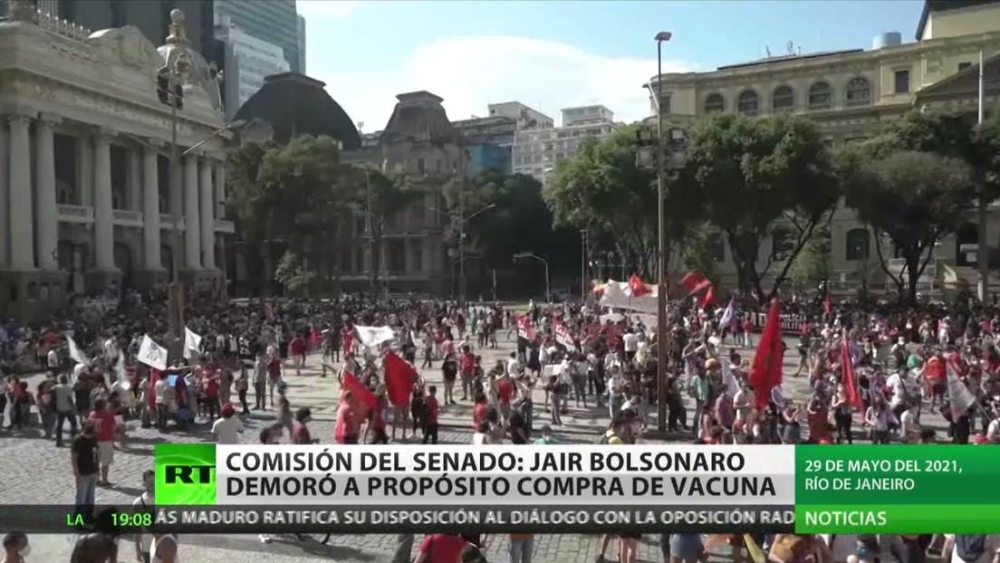 Comisión del Senado de Brasil revela que Bolsonaro demoró intencionalmente el proceso de adquisición de las vacunas
