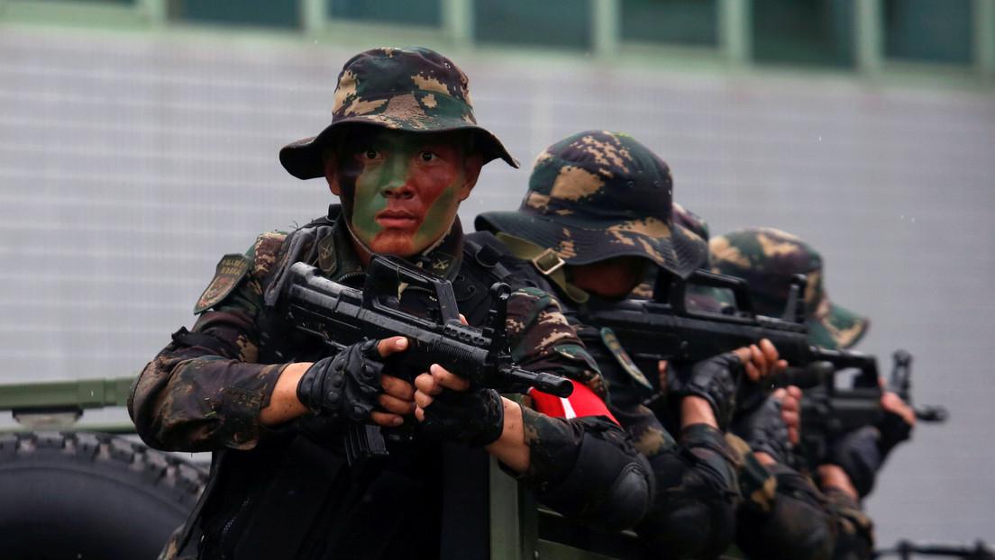 La defensa costera china está probando un robot de vigilancia de producción casera