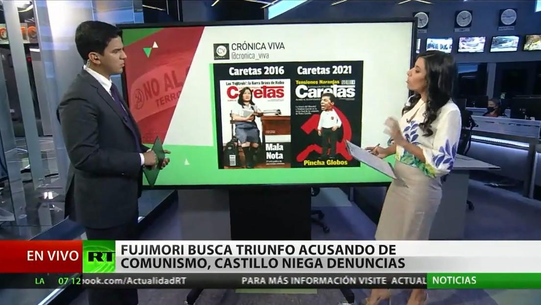 Keiko Fujimori busca su triunfo en Perú utilizando el fantasma del comunismo