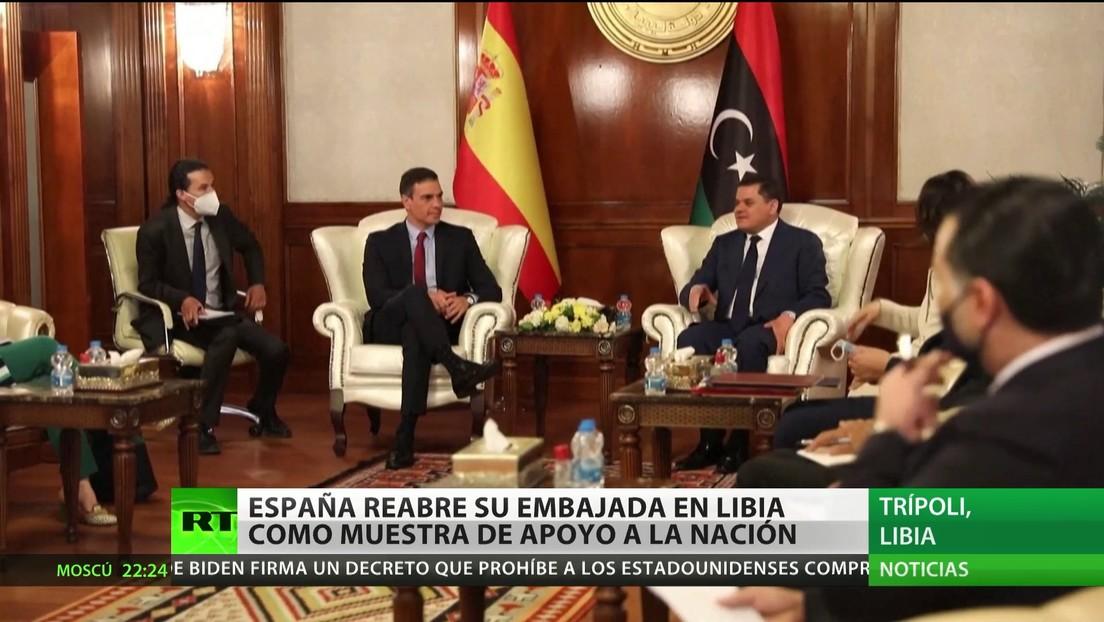 España reabre su Embajada en Libia como muestra de apoyo a la nación