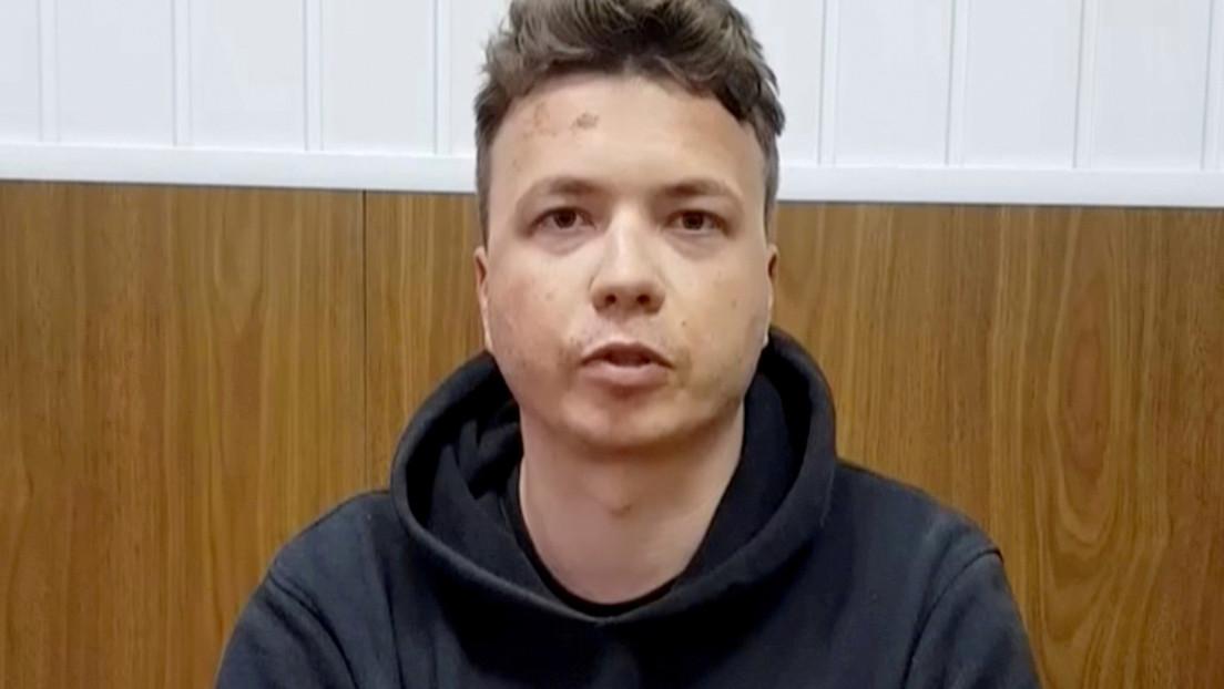 Putin comenta el caso del bloguero bielorruso detenido en el vuelo de Ryanair y responde a una pregunta sobre qué haría Rusia en estas circunstancias