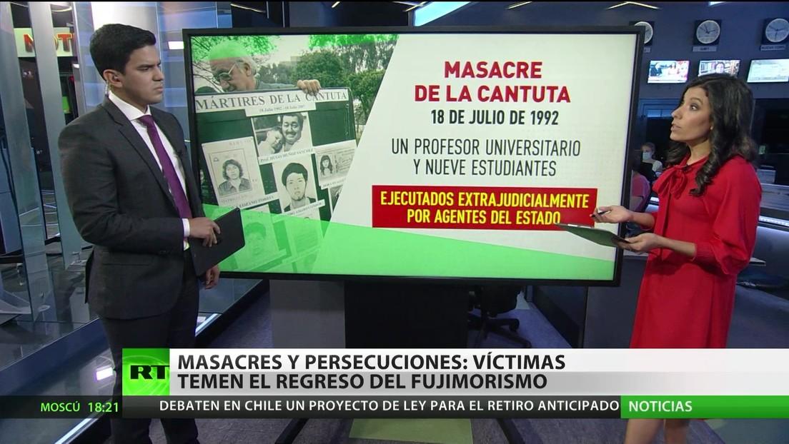 Masacres y persecuciones en Perú: las víctimas temen el regreso del fujimorismo