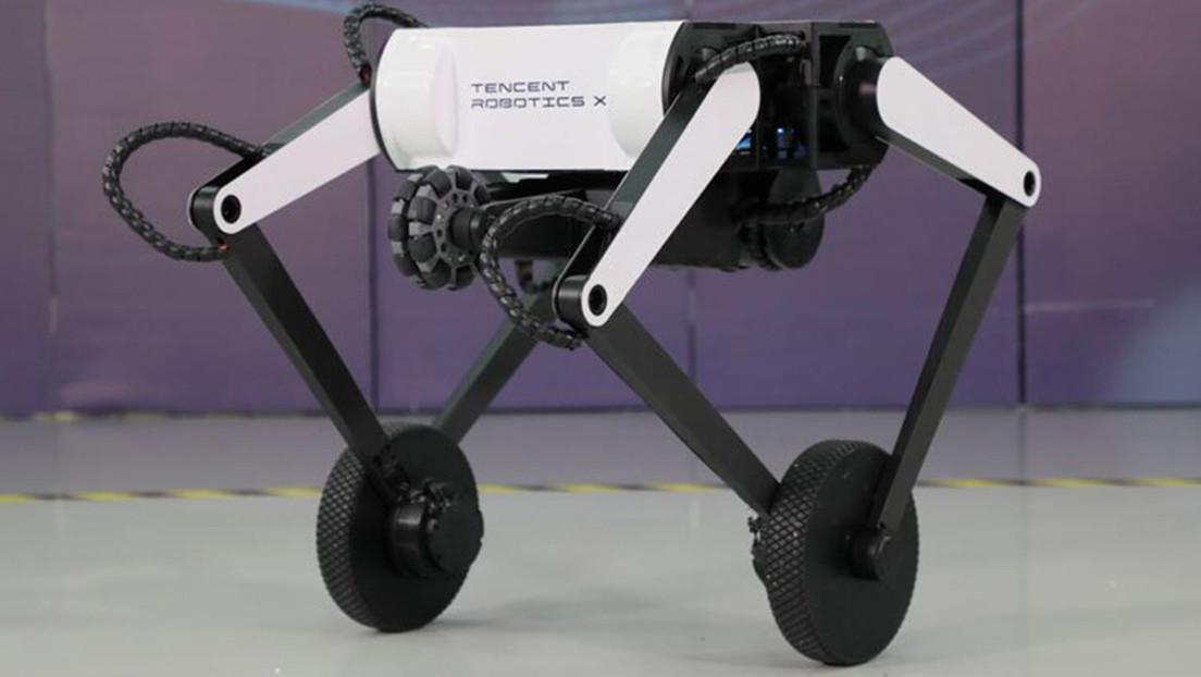 VIDEO: Presentan en China un robot de dos patas sobre ruedas capaz de realizar saltos mortales