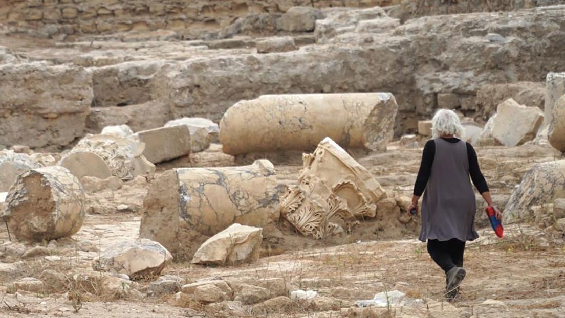 """Descubren una """"inmensa"""" y """"magnífica"""" basílica romana de 2.000 años en Israel"""