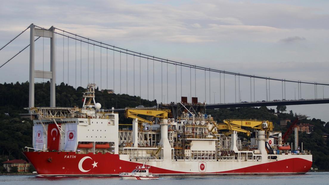 Turquía descubre en el Mar Negro un yacimiento de gas de 135.000 millones de metros cúbicos